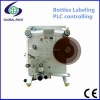 GLB-130 Electric Driven Economic Semi automatic label sticker bottles vial jar packing type labeling machine