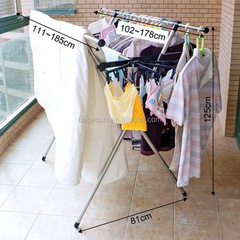 Baoyouni Diy Portable Garment Rack Rotating Closet Rack Spiral