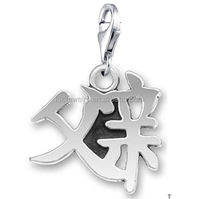 China Silver Dad Pendant China Silver Dad Pendant Manufacturers And