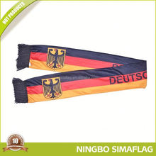 Colorful stripe rainbow scarf football scarves