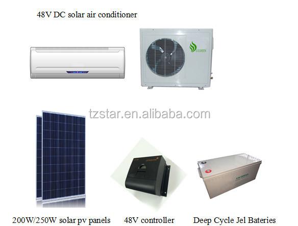 24000btu 48v dc inverter solar air conditioner solar dc. Black Bedroom Furniture Sets. Home Design Ideas