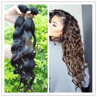 100 real human braiding hair natural color wavy virgin brazilian hair wholesale