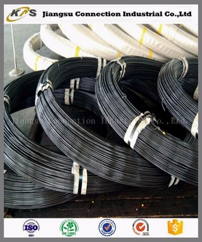 high strength oil tempered railway fastener spring steel wire with long service life