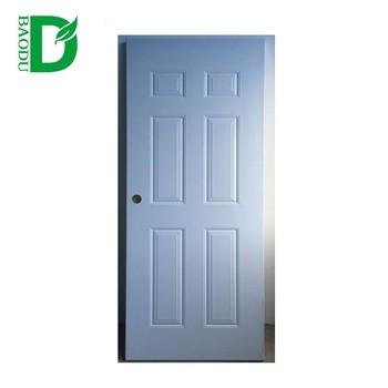 Baodu Brand American Style Entry Doors 2016 Hot Sale Interior Steel