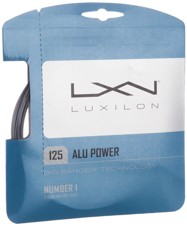 Luxilion ALU Power 125 Tennis Racquet String Set (16L Gauge, 1.25 mm)
