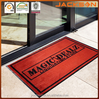 Brand new waterproof floor mat with printed logo