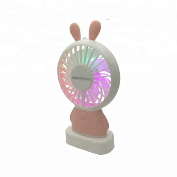 gift items New Mini Fan USB Rechargeable rabbot vibrator portable