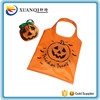 Halloween eco friendly polyester foldable shopping bag