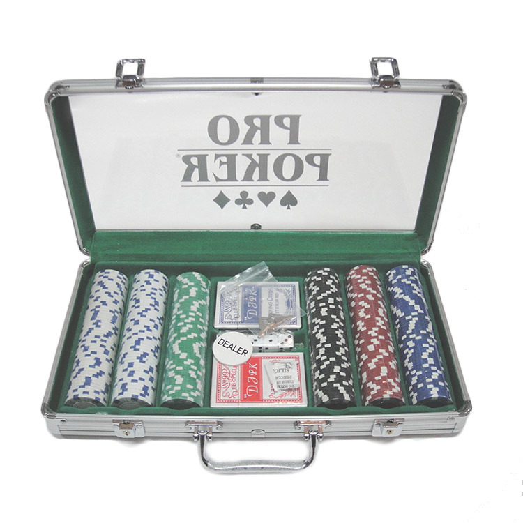 300 Stuks Poker Chips Set
