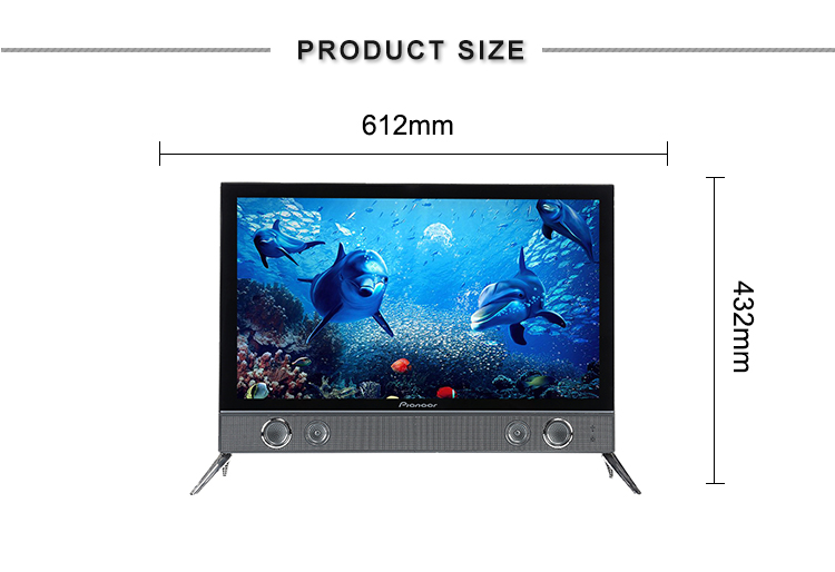Weier full hd lcd led tv spare parts sale 23.6 inch smart led lcd tv