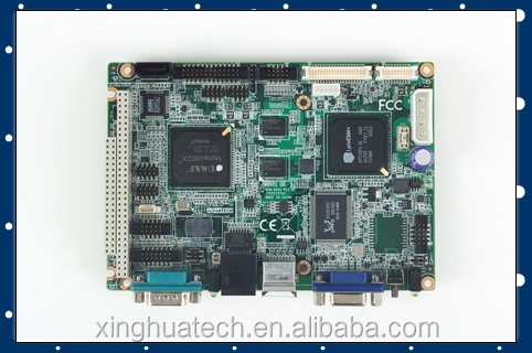 Advantech industrial motherboard PCM-9343EFG-S6A1E with DDR2 333 MHz SDRAM on board