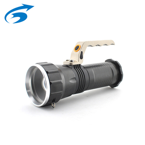 Most Powerful Big 1000Lm Tactical Xml T6 Led Manual Rechargeable Led Flashlight Torch