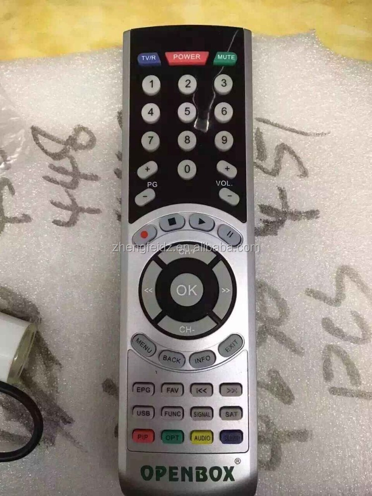 openbox satellite receiver remote controls