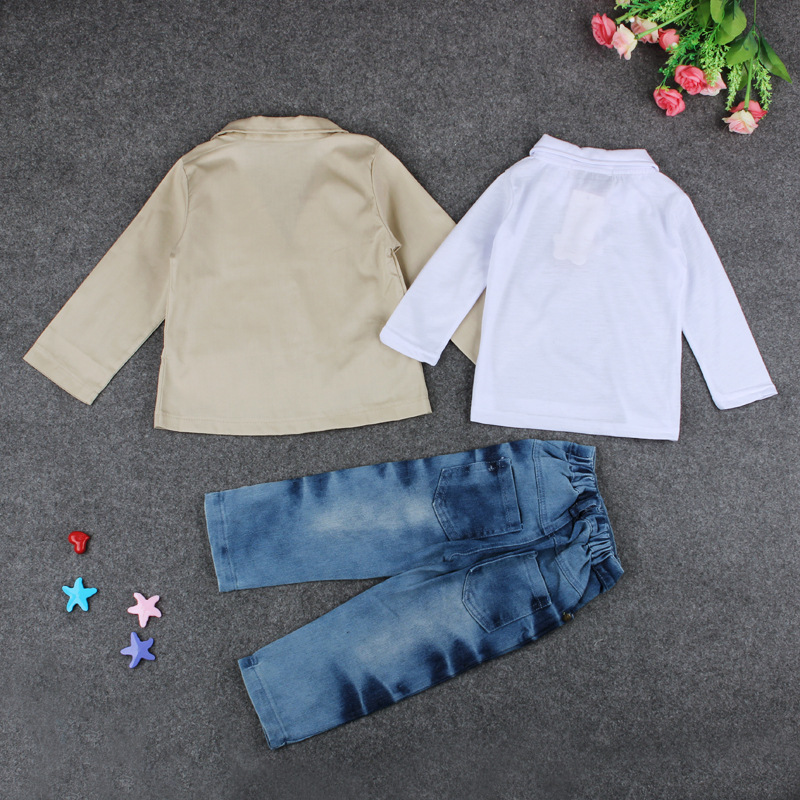 China Wholesale Korean Kids Summer Clothing Boys Children Wear Stock Lot Ruffle Set For New Product