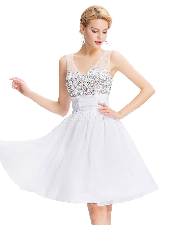 Online Get Cheap White Cocktail Dress -Aliexpress.com ...