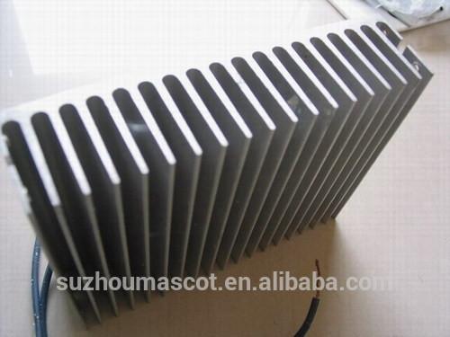 Disipador de calor de aluminio extruido perfiles de - Poliuretano extruido precio ...