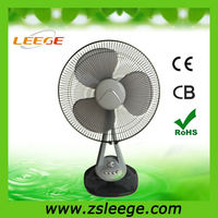 16 inch cheap quiet oscillating table fan singapore