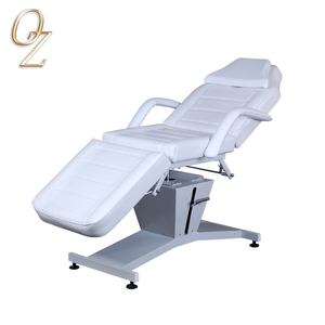 Beauty Clinic Hydraulic Table Treatment Massage Beds White facial Chair Beauty Clinic Table