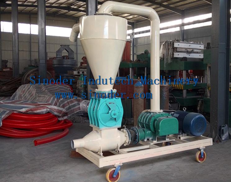 Pneumatic Vacuum Conveyor For Wood Pellet Conveyor For