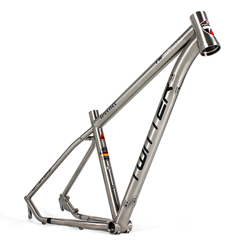 China Made Titanium Alloy Mountain Bike Frame With Bb68mm Threaded ...