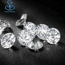 Large Hpht Cvd Diamond Lab Grown Loose Certified 6.5mm