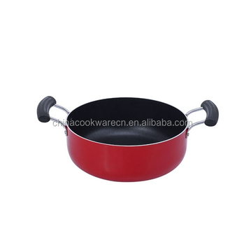 Durable coated aluminum home cooking casserole