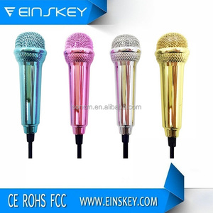OEM Mobile Phone Karaoke Microphone, small microphone for phone