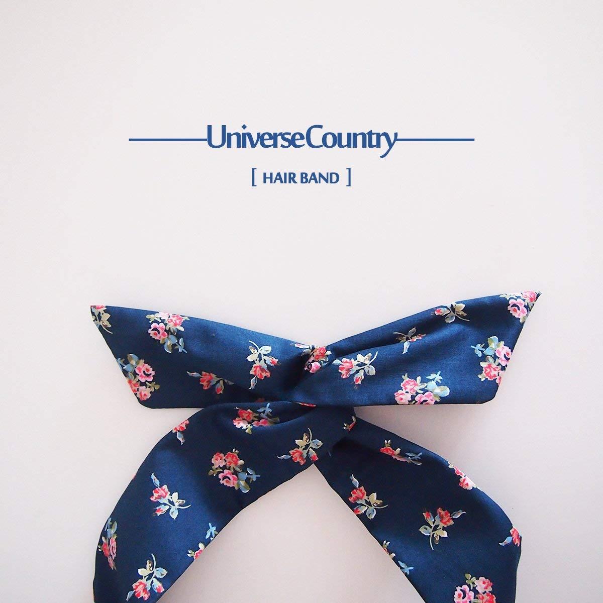 usongs Spot custom sold out does not help give her a small blue flower headband - original design handmade