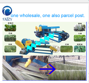 Jute Processing Machine/ramie fiber extracting machine/Quality coir fiber extracting machine