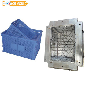 Plastic square watermelon box injection mould