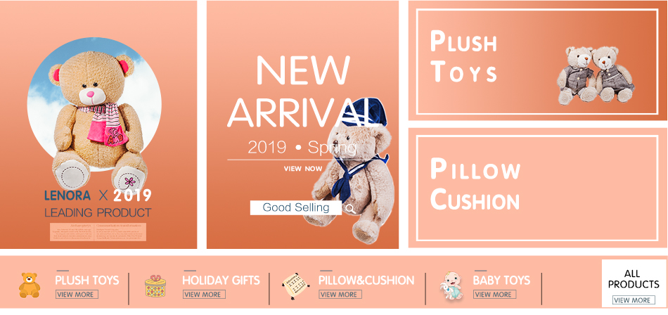 New style lovely care bear plush  big mouth bear stuff  toy children gift customization teddy bear with scarf animals toy