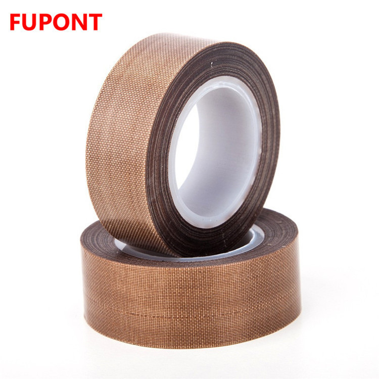 PTFE Coated Fiberglass High Temperature Silicone Tape Used in Heat Sealer