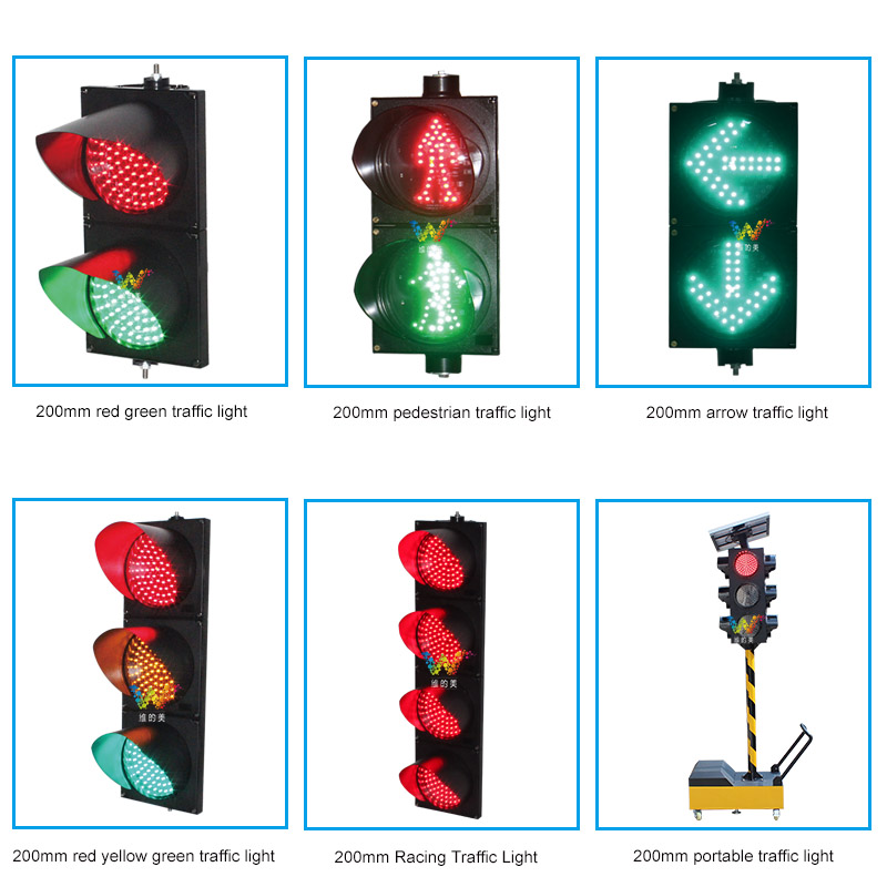 10 Years Factory Wholesale Price LED 300mm Traffic Light