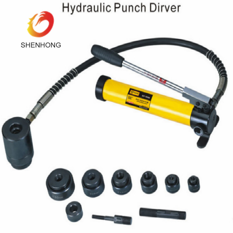 SYK-8 Hole punch hydraulic punch driver, knockout punching tools