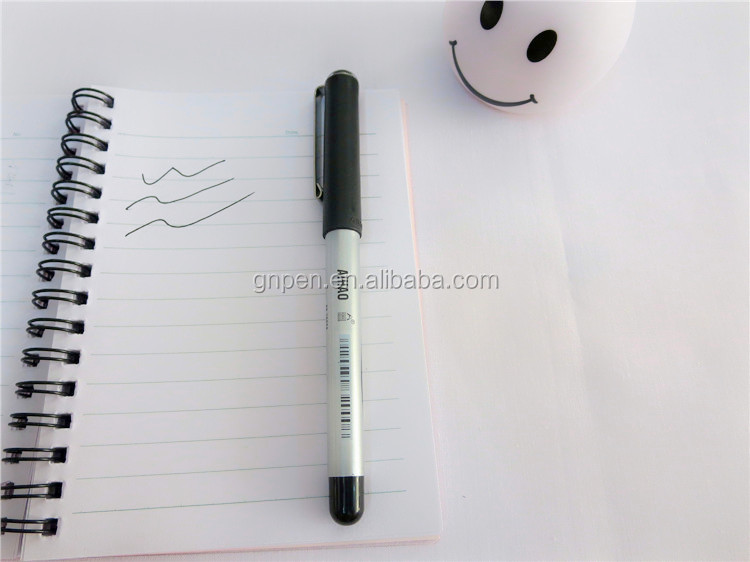 Office supplies high quality roller tip pens (signature pen)