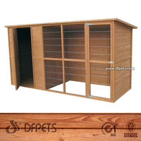 Outdoor And Indoor Cats House Hutch DFD012