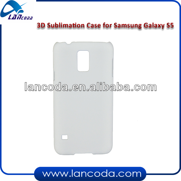 3d sublimation print mobile phone cover for samsung s5