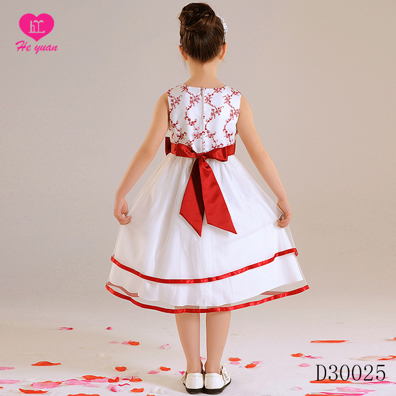 D30025 Glamorous Cotton Lining Crystal Blings Puffy Ball Gown Tutu Flower Girl Dresses For Pageant Birthday Wedding Pa