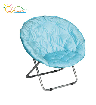 Fashionable Folding Round Beach Chairs Small Size Half Moon Chair