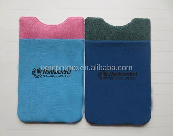 Custom Adhesive Pocket Cell Phone Credit Card Holder