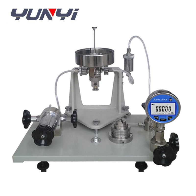 Pure gas Pneumatic Air Dead weight Tester
