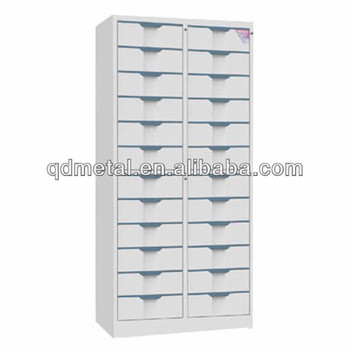 Hot Sale Office Steel Pigeon Hole Cabinet With 24 Drawers