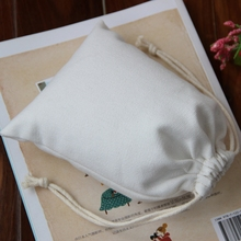 high quality cotton canvas fabric jewelry bag cheap drawstring bags wholesale for gift,jewelry,ornament,watch,cosmetics,bangle