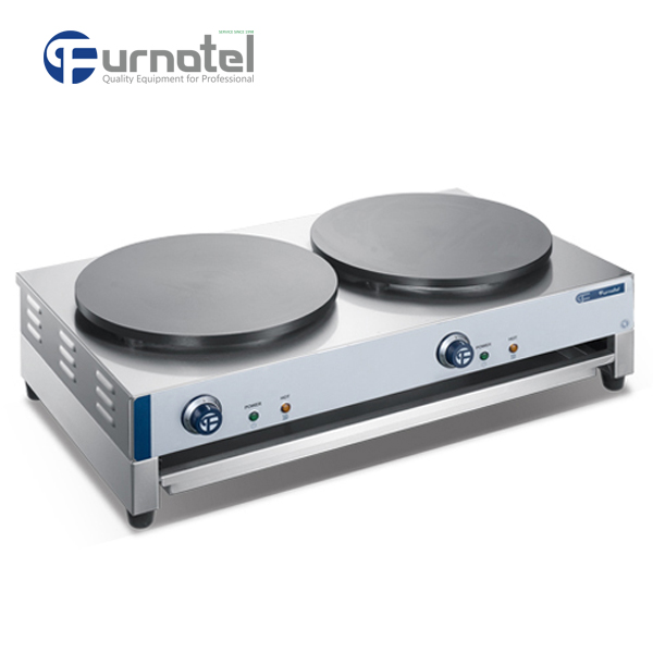 FSECM-0905 Electric Chinese Crepe Maker Automatic And Hot Plate