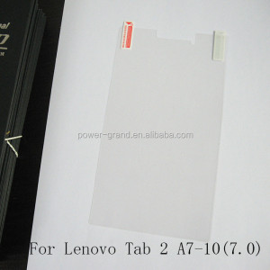 Anti-scratch PET Screen protector guard for Lenovo Tab 2 A7-10
