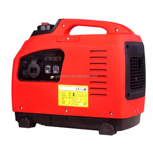 1KW Recoil Start mobile inverter gasoline generator for camping