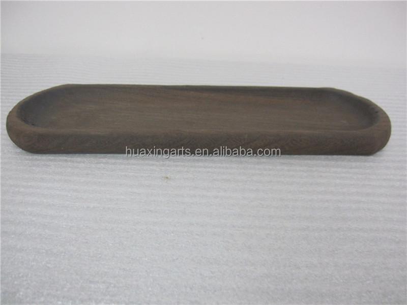 Paulownia Wood Arc-shaped Tray
