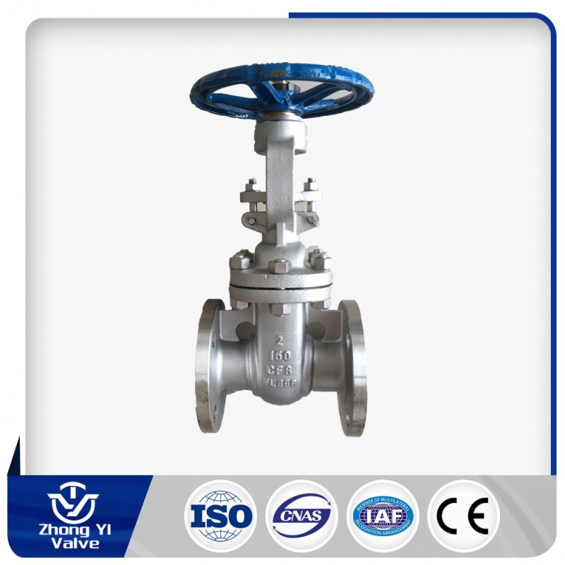 electric actuator rising stem gate valve for steam service