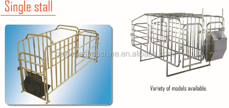 Piggery Gestation Crate automatic pig farming equipment