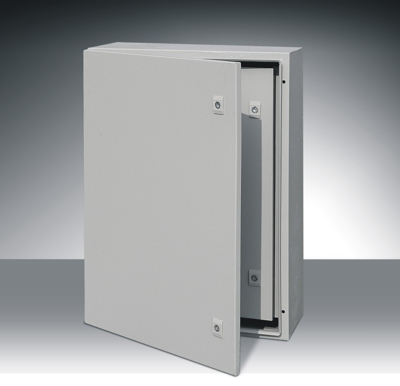 Outdoor weatherproof electrical junction sheet metal wall - Outdoor electrical enclosures cabinets ...